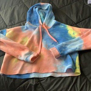 Tops - Cropped rue 21 hoodie